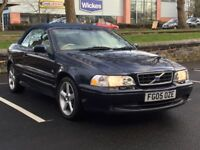 2005 VOLVO C70 CONVERTIBLE * 2.0 TURBO * 1 OWNER * F.S.H inc CAMBELT * 1 YR MOT PART EX * DELIVERY *