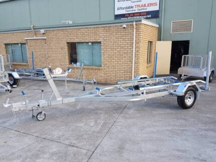 5.5mt Boat Trailer-Braked-Including Walkway,Bunkers & Guide Posts