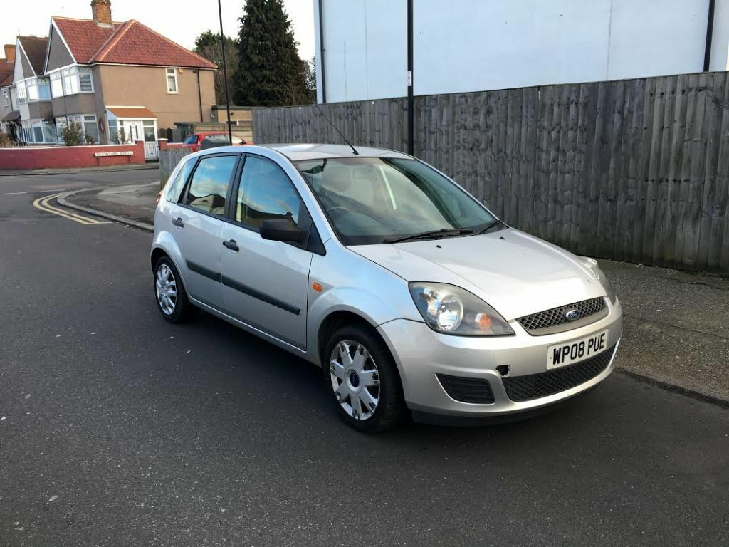 2008 ford fiesta 1 2 style silver 5 doors 79k mot and taxed in edmonton london gumtree. Black Bedroom Furniture Sets. Home Design Ideas
