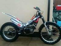 Montesa 4rt 2008 road reg