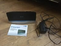 BT home hub 5, comes with ADSL cable and network cable