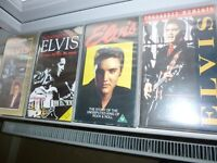 ELVIS VHS COLLECTION