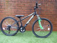 Boys Apollo Gridlok Mountain Bike from Halfords 24 inch Suitable for 8yrs plus Nearly New