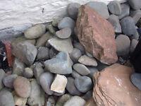 Decorative rocks and sandstone