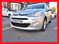 AUTO -- 2013 Citroen C3 Automatic 1.6 VTi Exclusive --- 47800 Miles --- Low Mileage --- C3 --- PX OK