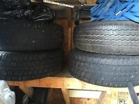 5 winter tires with rims