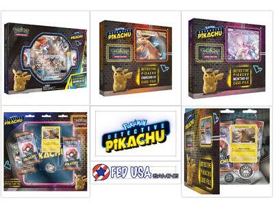 Pokemon TCG Detective Pikachu Ultimate Trainer Kit 3 GX Boxes 2 Files PRESALE (Pokemon Kit)