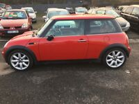Mini Cooper trade clearance no offers