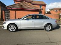2009/09 AUDI A4 2.0 TDI SE 143 BHP FACELIFT 4 DOOR SILVER LONG MOT FULL HISTORY