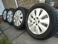 SET 4x VAUXHALL ASTRA CORSA R 16 , Tyres like new