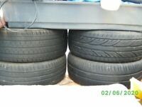 4 X 215/RI6 TYRES EXCELLENT CONDITION
