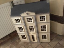 Dolls House, essembled all ready for decoration in side