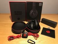 Wireless Bluetooth BEATS Noise-Cancelling Headphones Matte Black limited edition