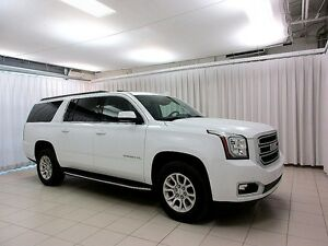 2016 GMC Yukon XL SLT 4X4 8 PASS w/ HEAT & COOL LEATHER, MOONROO