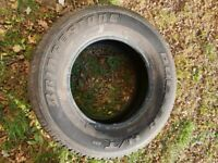 Tyres Bridgestone Dueler 4x 245/70R 16 used Ford Ranger