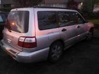 Subaru Forester Sport 4x4 spares or repairs
