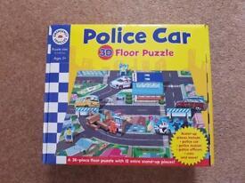Police Car Floor Puzzle