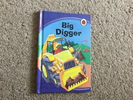 BIG DIGGER LADYBIRD BOOK