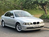 **AUTOMATIC+BMW 530D 3.0 DIESEL 5 DOOR SILVER (2002 YEAR)**