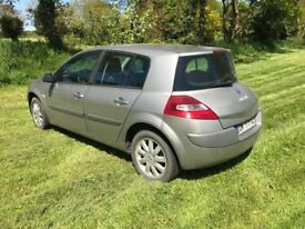 2007 FRENCH REGISTERED Renault Megane 1.5 DCI Diesel 70MPG Price Reduced