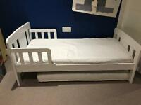 Toddler bed and mattress - ikea