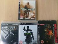 Caanali Enterprise | PS3 Games (Modern Warefare 2, 3 & MW Black Ops II & Metal Gear Solid 4)