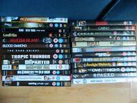25x DVDs (Inc. List)