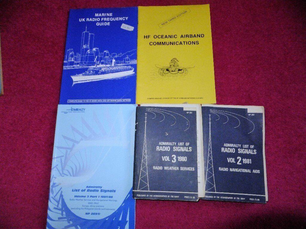 Marine radio books, pick and mix | in Weymouth, Dorset