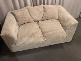 3 seat plus 2 seat Dylan Sofa (Mink) - Excellent Condition