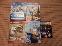 Lego Books x 5 in good condition