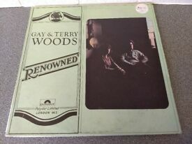 GAY & TERRY WOODS - RENOWNED - ORIGINAL VINYL ALBUM