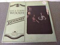 GAY & TERRY WOODS - RENOWNED - ORIGINAL VINYL ALBUM