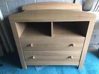 Mothercare Padstow Cotbed and Changing Unit