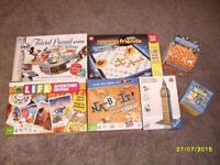 Bundle of 7 Board Games and Puzzles for £30 or £5 each