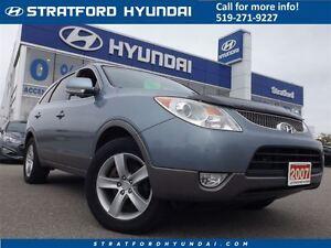 2007 Hyundai Veracruz GLS | LEATHER | SUNROOF | AWD | HEATED SEA
