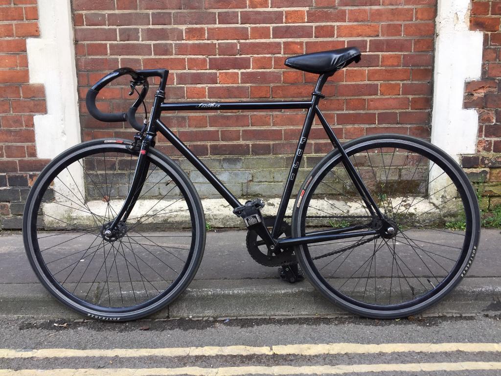 fuji feather fixed gear fixie single speed racing bike. Black Bedroom Furniture Sets. Home Design Ideas