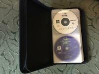 Playstation 1 games x21 (+magazine discs).