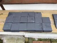 Grey Quarry Tiles inc Edging Tiles