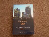 3 Company Law Textbooks (£40 O.N.O.)