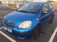 2003 Toyota Yaris T3 1.3 Petrol ,Manual , Long Mot , HPI clear , Run Very Smooth , Very Clean In&Out