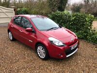 RENAULT CLIO DYNAMIQUE TOMTOM DCI £30 ROAD TAX (red) 2010
