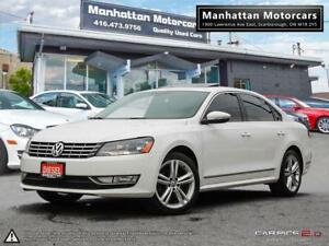 2012 VOLKSWAGEN PASSAT 2.0 TDI DIESEL|NO ACCIDENT|LEATHER|ROOF