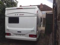 2001 LUNAR LX2000 420 Touring Caravan with Full Awning.