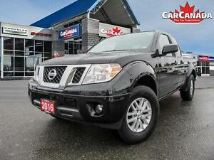 2016 Nissan Frontier SV, 4X4, HEATED SEATS, BACK UP CAMERA