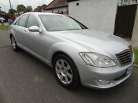 MERCEDES S CLASS 7 G TRONIC S 320D LUXURY 3.0 DIESEL AUTO FULL SERVICE HISTORY S500 S350 S320