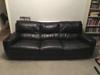 3 + 2 Seater Leather Sofas