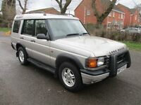 2000 W LAND ROVER DISCOVERY 2.5 TD5 GS 4X4 7 SEATER TOW BAR SUN ROOFS STUNNING ALLOYS FSH PX SWAPS