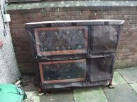 Double Small Animal Hutch