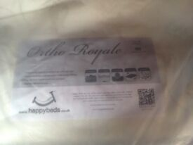 ortho royalle double mattress brand new.
