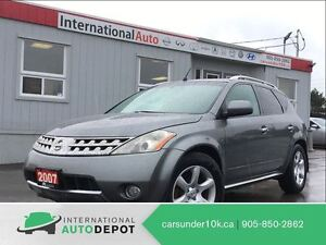 2007 Nissan Murano SL | LEATHER | BACK-UP CAM | MOONROOF